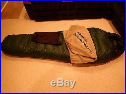 Western Mountaineering Puma Down Sleeping Bag, -25°, MF Shell, 6'LHZ