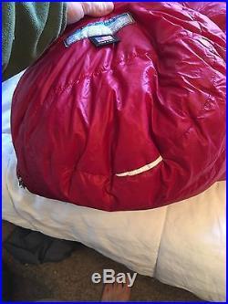Western Mountaineering Summerlite 6' R Great Shape Backpacking down sleeping bag