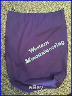 Western Mountaineering TerraLite Sleeping Bag 25 Degree Down