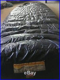 Western Mountaineering TerraLite Sleeping Bag 25 Degree Down 7'0 Left Zip