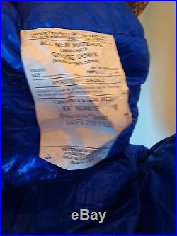 Western Mountaineering UltraLite Sleeping Bag 20 Down 6'6 Left Zip /25896/