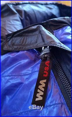 Western Mountaineering Ultralite 20 Degree Down Sleeping Bag 6FT / Right Zip