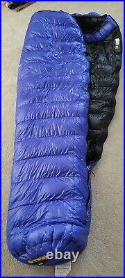 Western Mountaineering Ultralite 20 Degree Sleeping Bag Royal Blue 6FT / Left