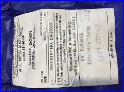 Western Mountaineering Ultralite 6'6 Left Zip 20 deg Down Bag