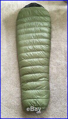 Western Mountaineering VERSALITE 850+ Down Sleeping Bag 6' 6 Right Zip Made USA