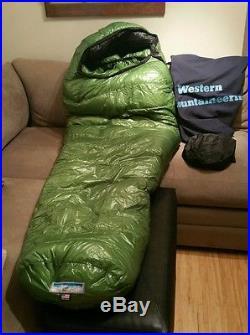 Western Mountaineering Versalite (6ft Reg, LH Zip) 10 degree down sleeping bag