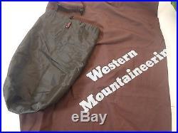 Western Mountaineering Versalite Sleeping Bag 10 Degree Down /27454/