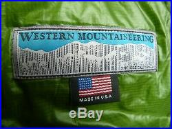 Western Mountaineering Versalite Sleeping Bag 10 Degree Down 6'-6 Length 2#2oz