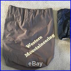 Western Mountaineering Versalite Sleeping Bag 10 Degree Down 6ft 6in Left Zip