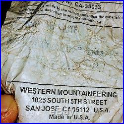 Western Mountaineering Versalite Ul Ultralight 10 Deg Down Sleeping Bag 6' Lz