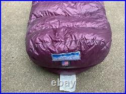 Western Mountaineering sleeping bag Megalite 6'6 left zipper
