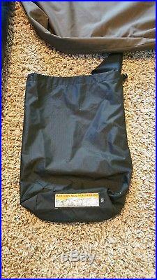 Western mountaineering 6'0 terralite sleeping bag left zipper made in usa
