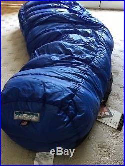 Western mountaineering Puma MF down sleeping bag. 6'6 length. NWT