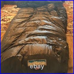 Western mountaineering Sequoia 66 Microlite Sleeping Bag Left Zip