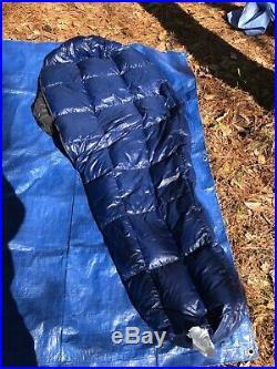 Western mountaineering caribou down sleeping bag