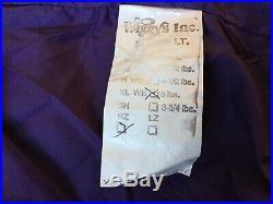 Wiggys Lamilite Insulated XL WB Sleeping Bag SystemOver Bag, Stuff Sack XXL