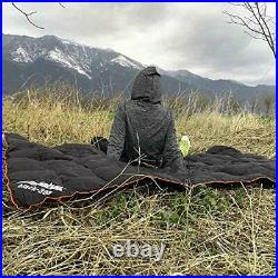 ZEFABAK Down Blanket for Camping Indoor Outdoor Puffy 600 Fill Power Duck Down