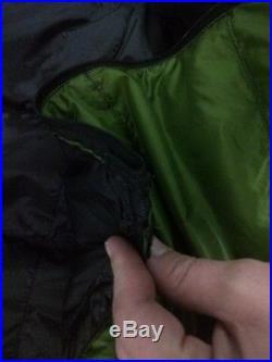 ZPacks 30 ° degree sleeping bag, hoodless bottom zip down quilt ultralight