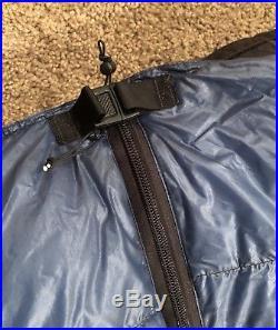 Zpacks Full Zip 20F Sleeping Bag Broad / X-Long 900 Fill Blue