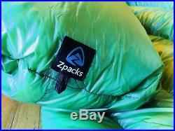 Zpacks Solo Quilt. 5 degree-slim width long-great condition