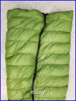 Zpacks Ultralight Down Sleeping Bag Full Zip 80 Green/Black